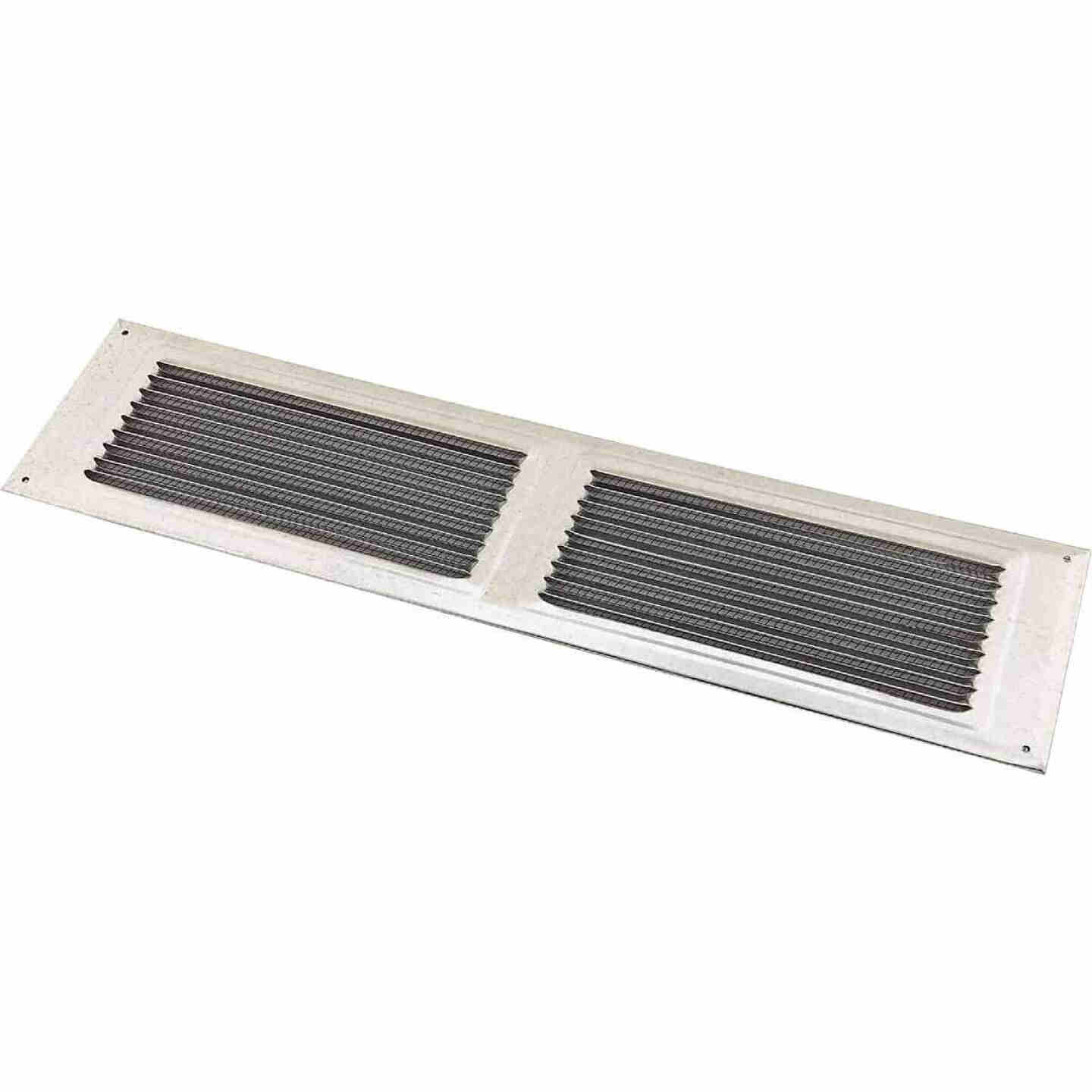 NorWesco 16 In. x 4 In. Galvanized Soffit Ventilator Image 1