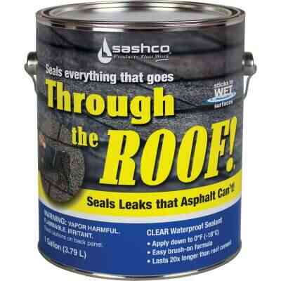 Through the Roof! 1 Gal. Cement & Patching Sealant