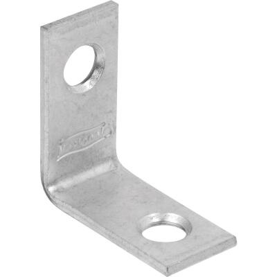 National Catalog 115 1 In. x 1/2 In. Zinc Corner Brace