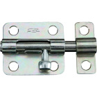 National 2-1/2 In. Zinc Steel Door Barrel Bolt Image 1