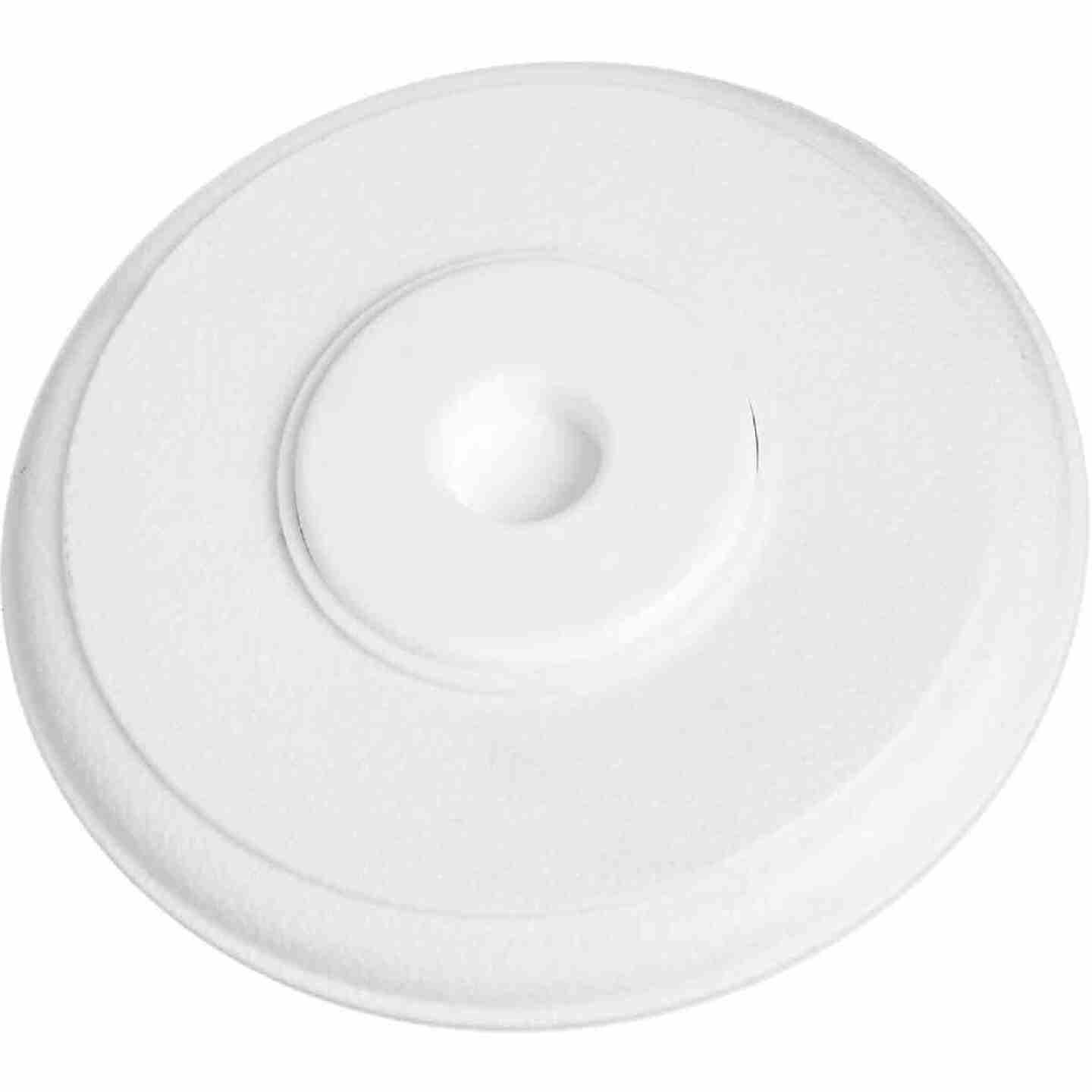 National 336 5 In. White Softstop Cover-Up Wall Door Stop Image 1