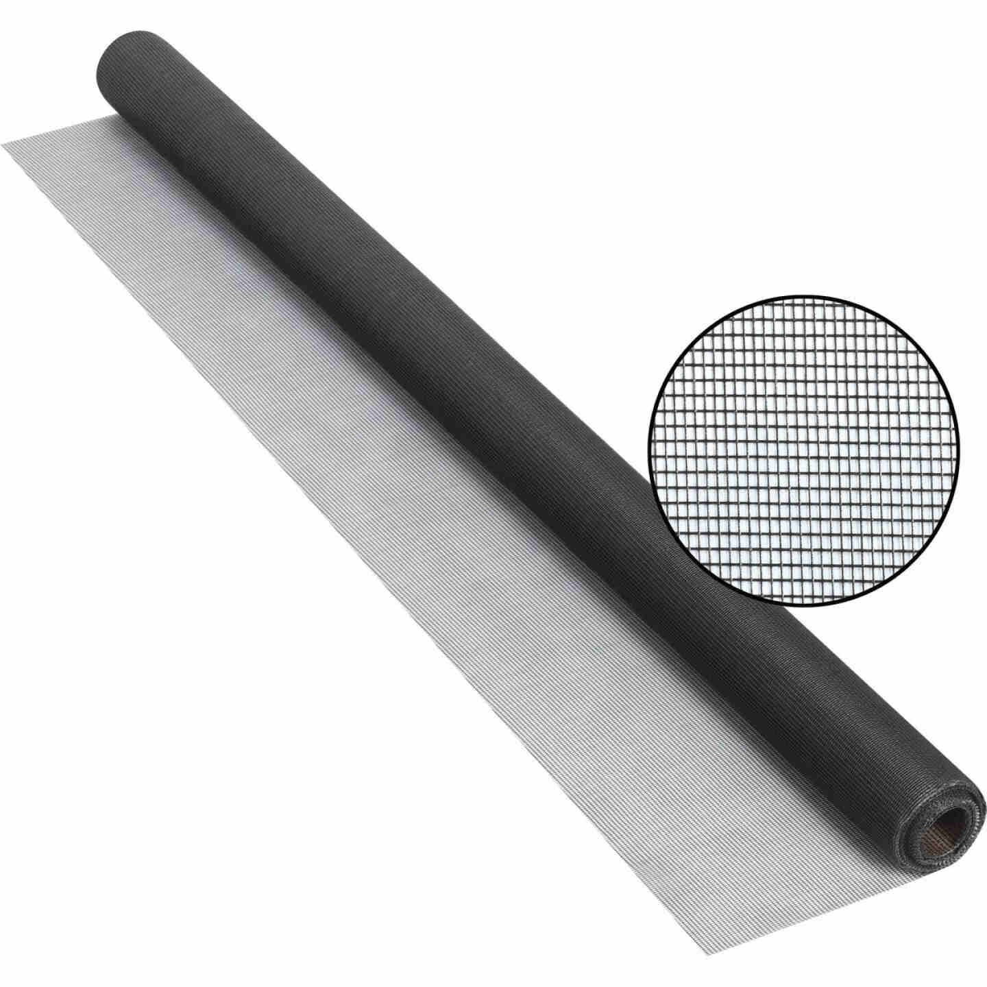 Phifer 48 In. x 25 Ft. Charcoal Fiberglass Screen Cloth Image 1