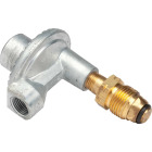 MR. HEATER 3/8 In. FPT x P.O.L. Low Pressure 90 Deg Angle LP Low-Pressure Regulator Image 1