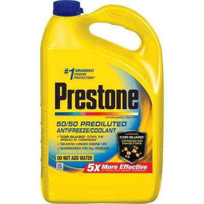 Prestone Gallon 50/50 Pre-Diluted -84 F to 276 F Automotive Antifreeze