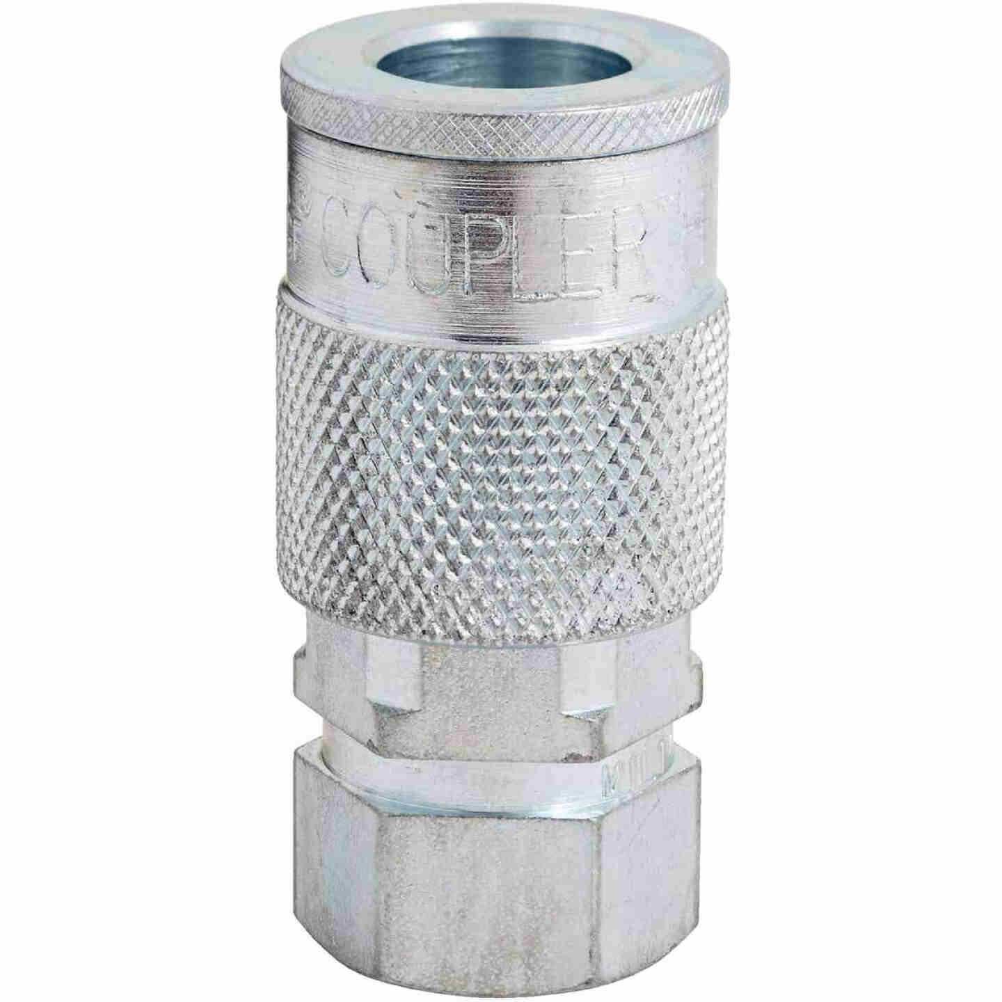 Milton 3/8 In. FPT H-Style Brass Coupler Image 1