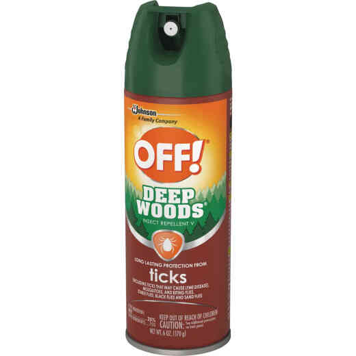 Deep Woods Off 6 Oz. Tick Repellent Aerosol Spray