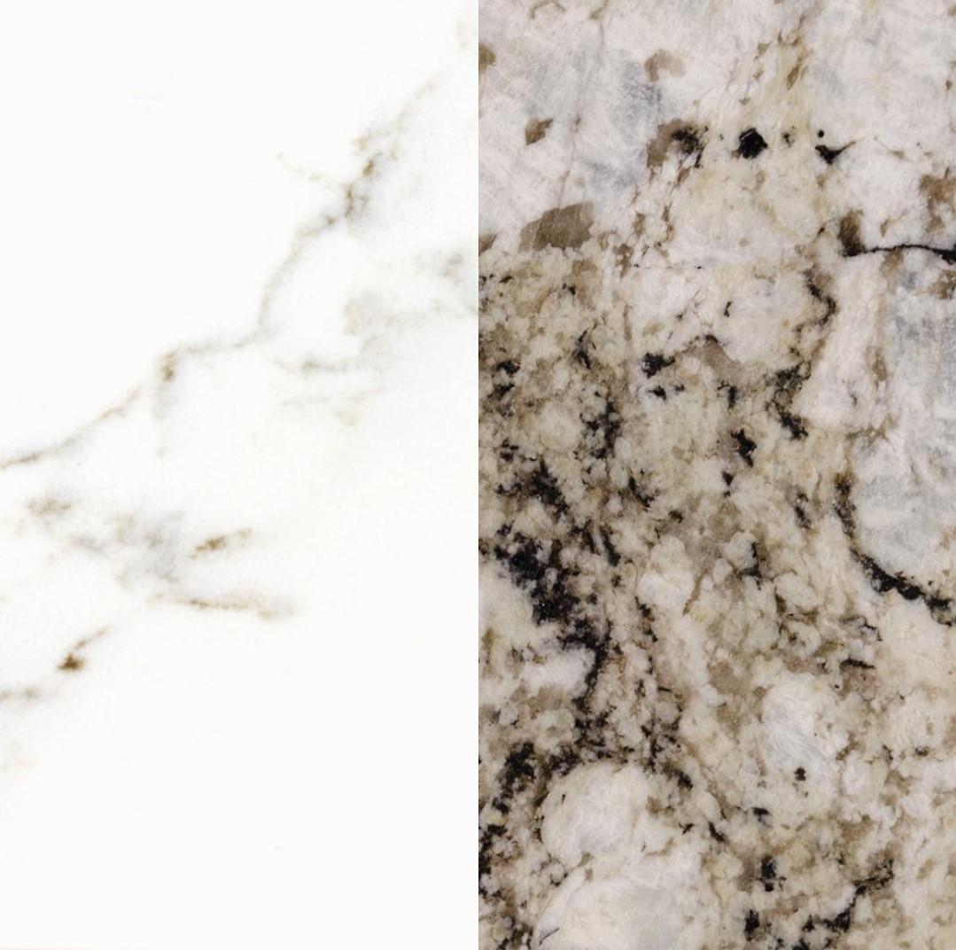granite and quartz